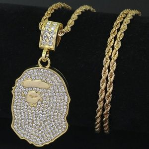 Other - A Bathing Ape Chain. Bape Supreme Necklace Gold